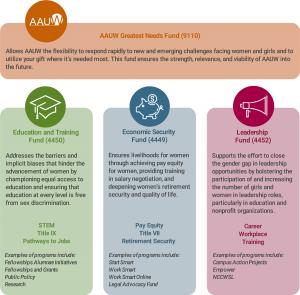 AAUW Funds diagram