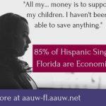 Hispanic Women Economic Insecurity