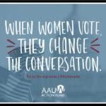 when women vote